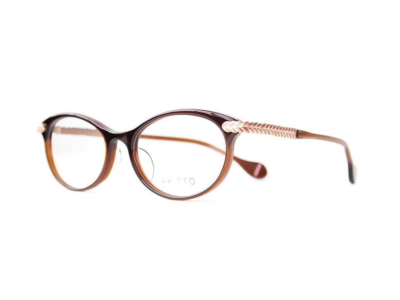 AKITTO 2016-3rd rey-p color|BR size:51□17 material:acetate+titanium price:44,500-(+tax)