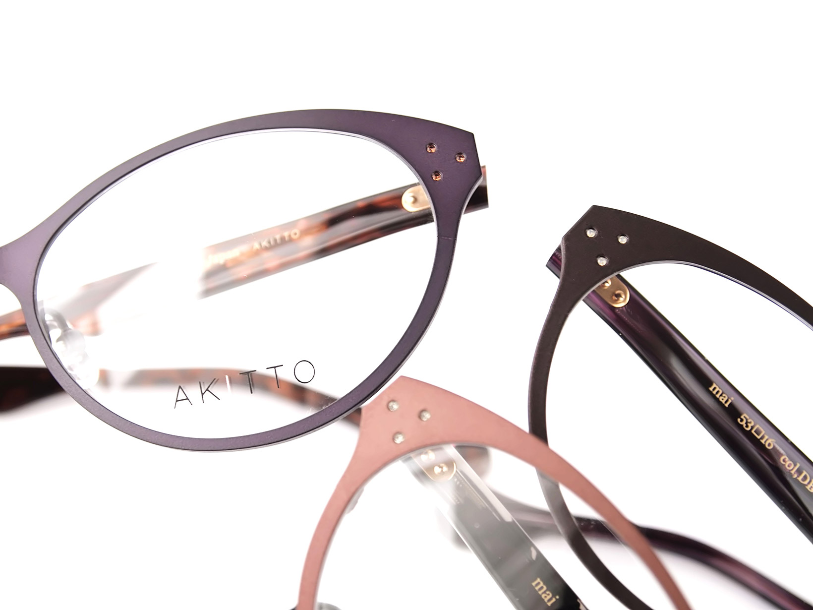 AKITTO 2016-2nd mai size:53□16 material:titanium+acetate price:42,000-(+tax)