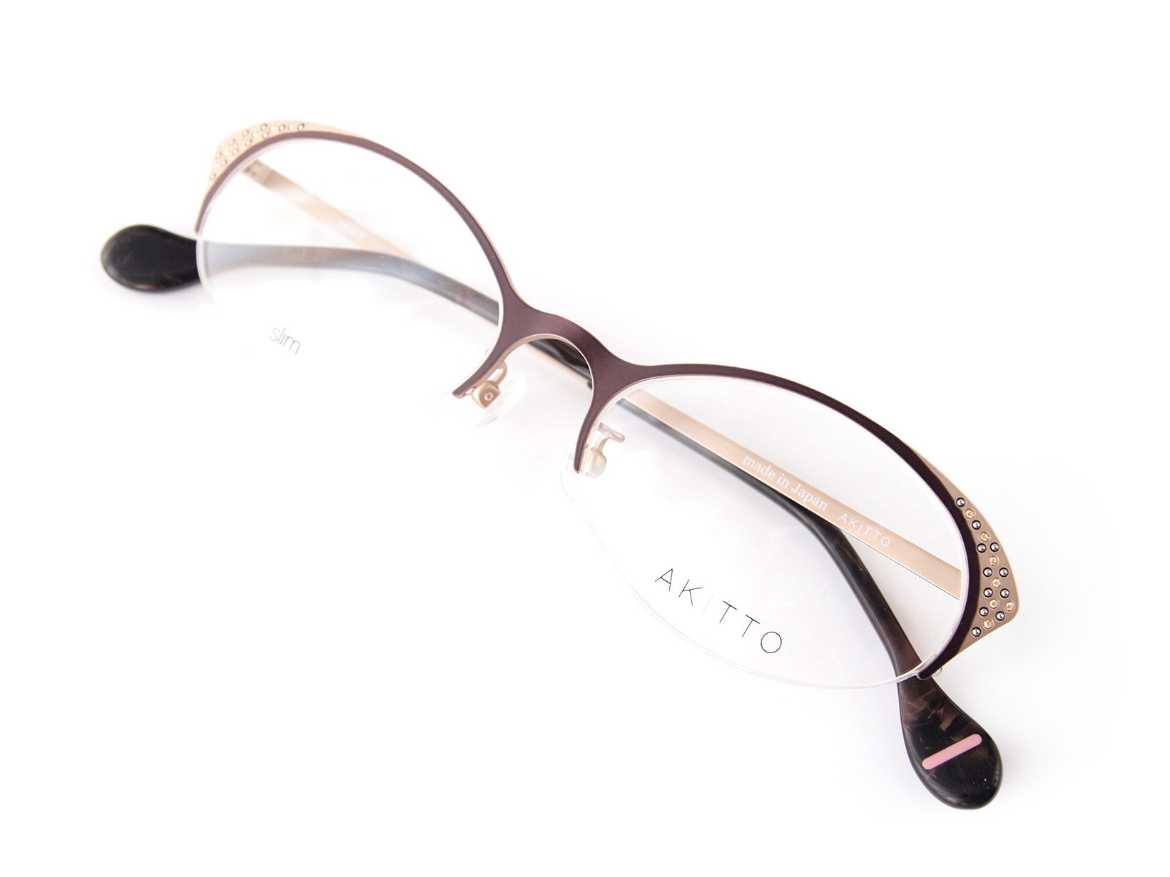 AKITTO 2015-4th soe2 color|TP size:53□18 material:titanium+swarovski price:44,500-(+tax)