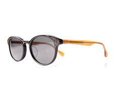 AKITTO 2017-3rd kin color 8504 size:48□19 material: acetate+gold price:39800-(+tax)