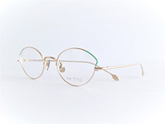 AKITTO 2017-4th pin1 color BG size:48□20 material:titanium price:¥42,000-(+tax)
