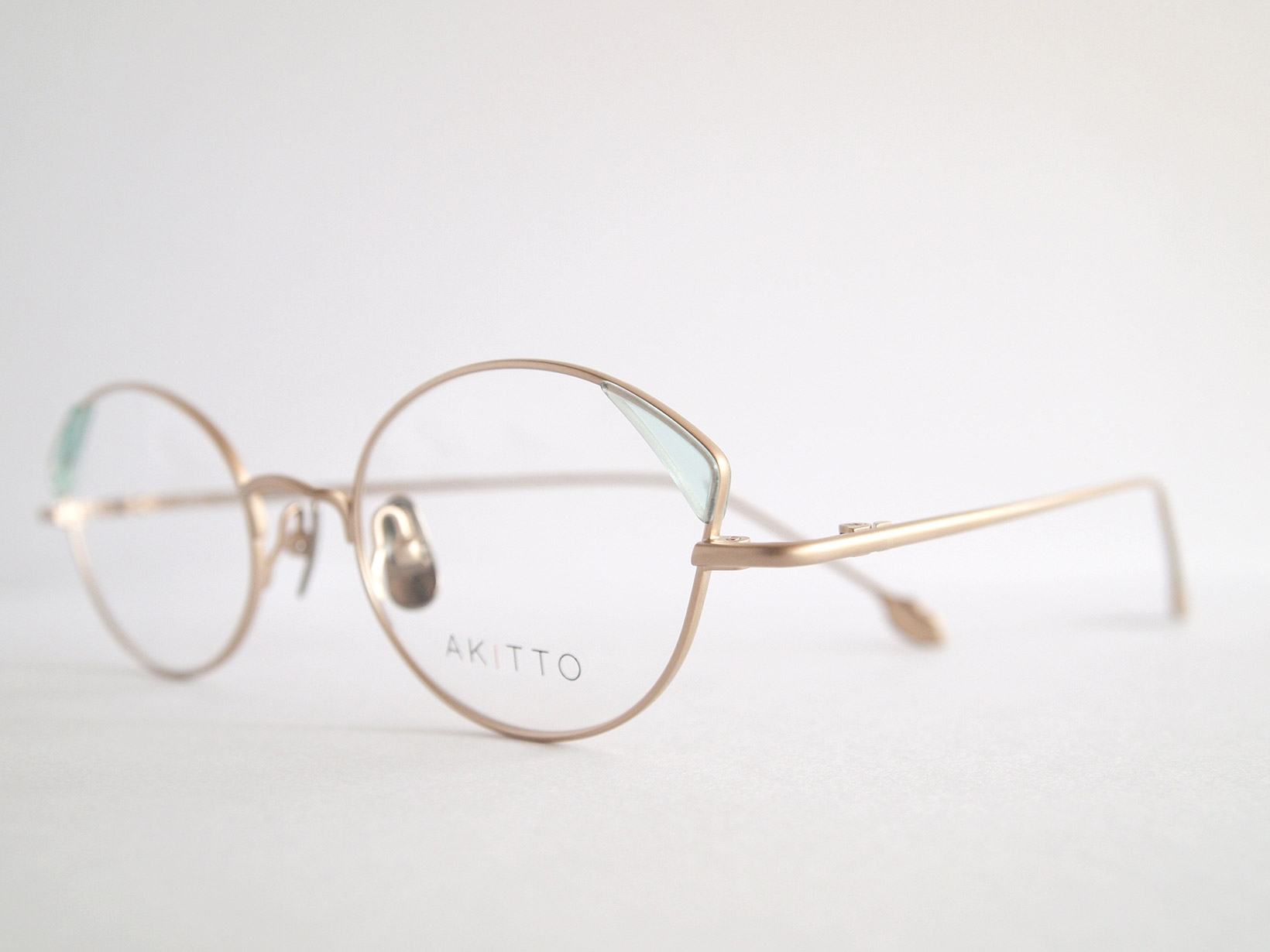 AKITTO 2018-4th pin4 color|BL size:47□19 material:titanium+acetate price:¥42,000-(+tax)