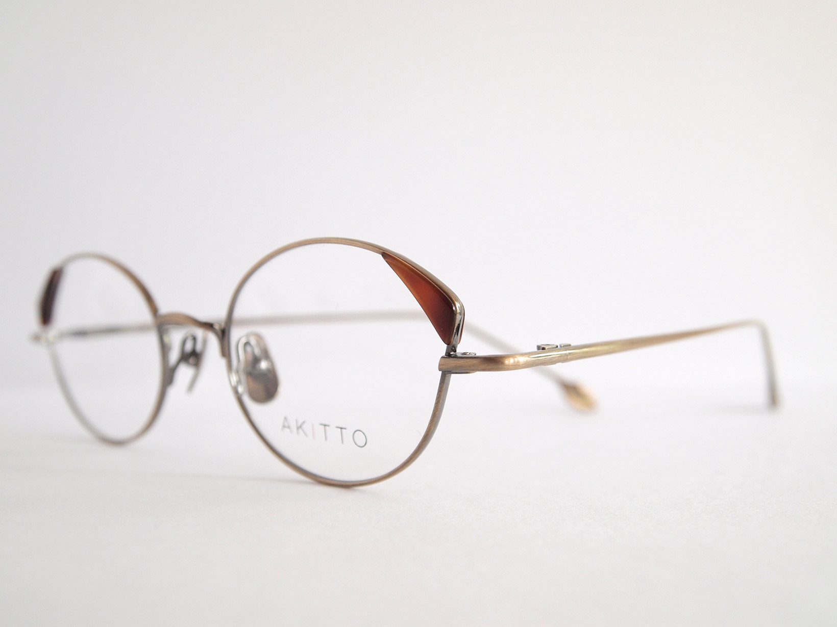 AKITTO 2018-4th pin4 color|DM size:47□19 material:titanium+acetate price:¥42,000-(+tax)