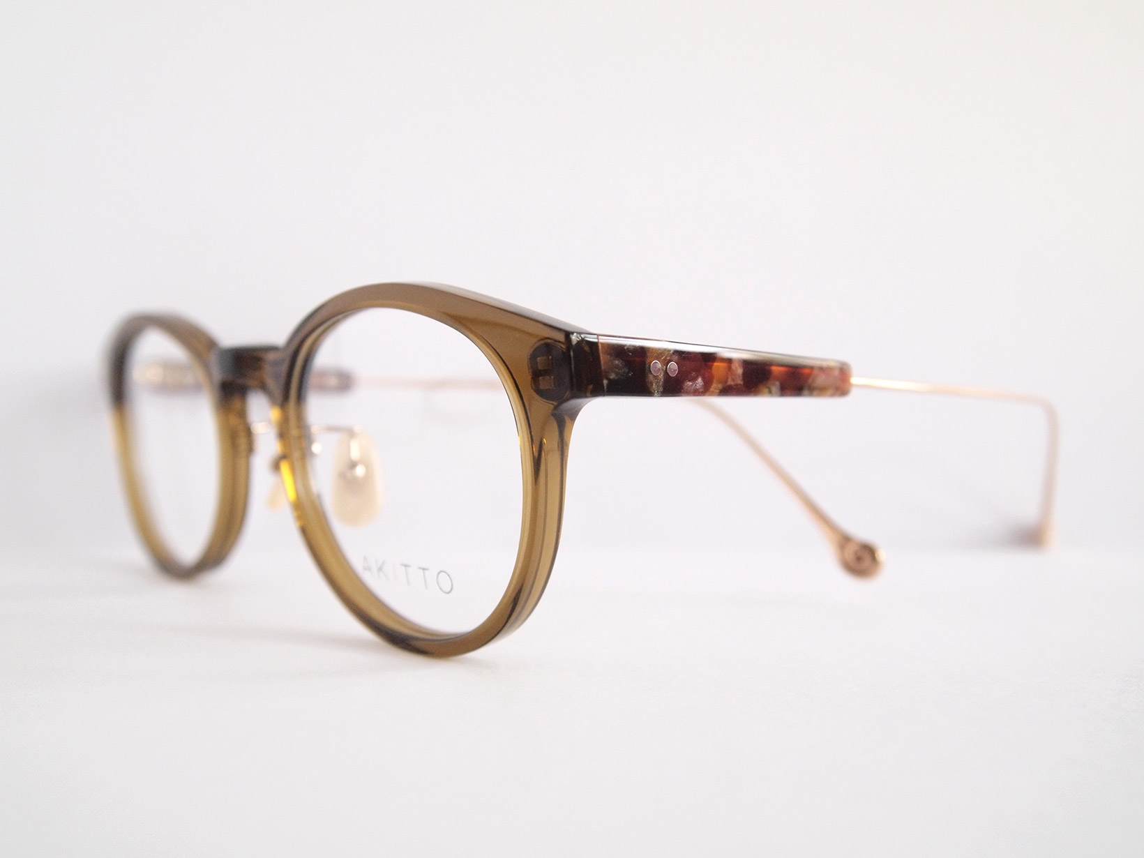 AKITTO 2018-4th rog2 color|KH size:47□21 material:acetate+titanium price:¥39,800-(+tax)
