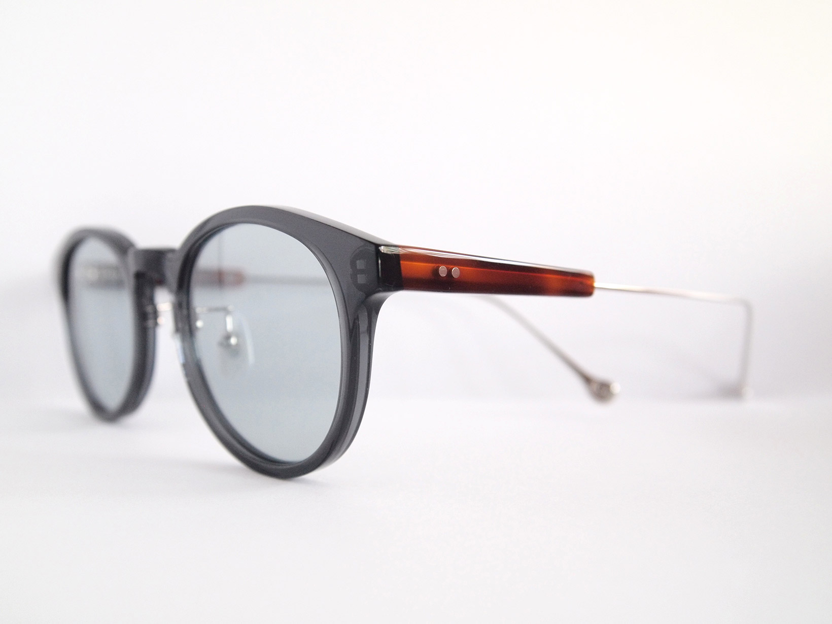 AKITTO 2018-4th rog2 color|NV size:47□21 material:acetate+titanium price:¥39,800-(+tax)