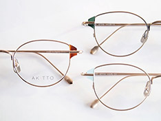 AKITTO 2019-1st pin6 size:47□19 material:titanium+acetate price:¥42,000-(+tax)