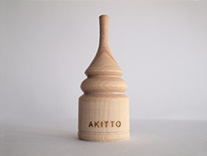 AKITTO 2019-4th stand No,1 material:wood price:¥4,500(+tax)