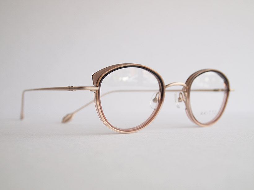 AKITTO 2020-2nd pin10 color:PU size:43□22 material:titanium+acetate price:¥42,000(+tax)