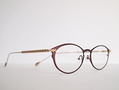 AKITTO 2020-3rd lin1 color:RD size:51□17 material:titanium price:¥44,500(+tax)