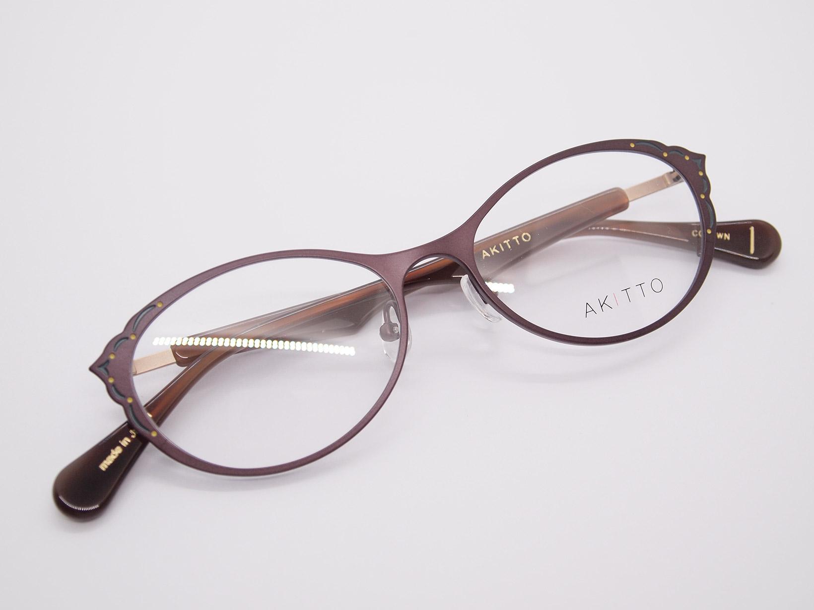 AKITTO 2020-4th mal color|WN size:51□16 material:titanium+enamel+acetate price:¥44,500-(+tax)