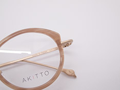 AKITTO 2020-4th pin12 size:44□23 material:titanium+acetate price:¥42,000-(+tax)