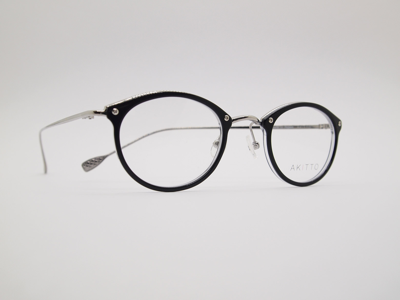 AKITTO 2021-3rd bin2 color|BK size:43□24 material:titanium+acetate price:¥46,200-(税込み)