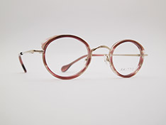 AKITTO 2021-3rd pin17 color|MG size:43□25 material:titanium+acetate price:¥46,200-(税込み)