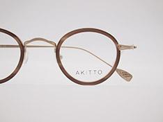AKITTO 2021-4th tas2 size:41□25 material:titanium+acetate price:¥46,200-(税込み)