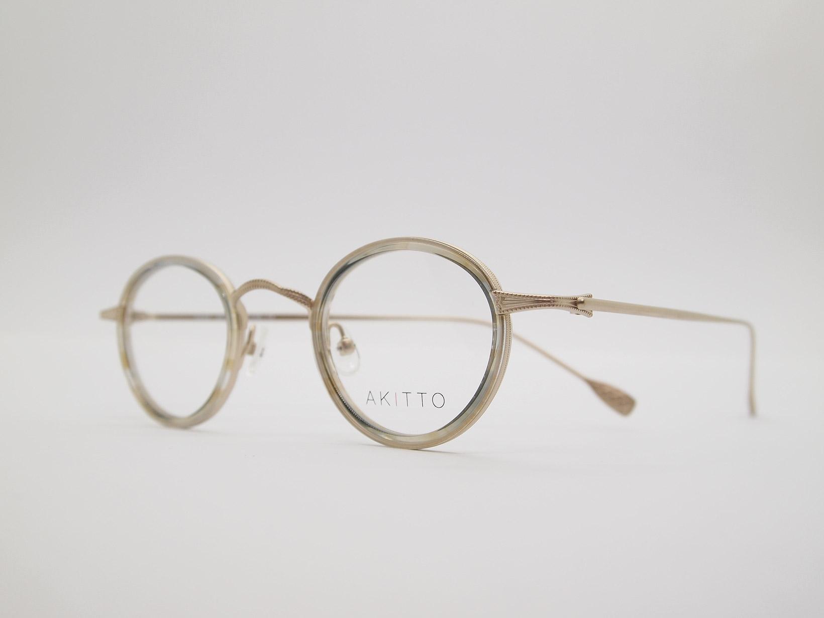 AKITTO 2021-4th tas2 color BB size:41□25 material:titanium+acetate price:¥46,200-(税込み)