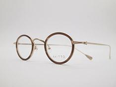 AKITTO 2021-4th tas2 color BG size:41□25 material:titanium+acetate price:¥46,200-(税込み)