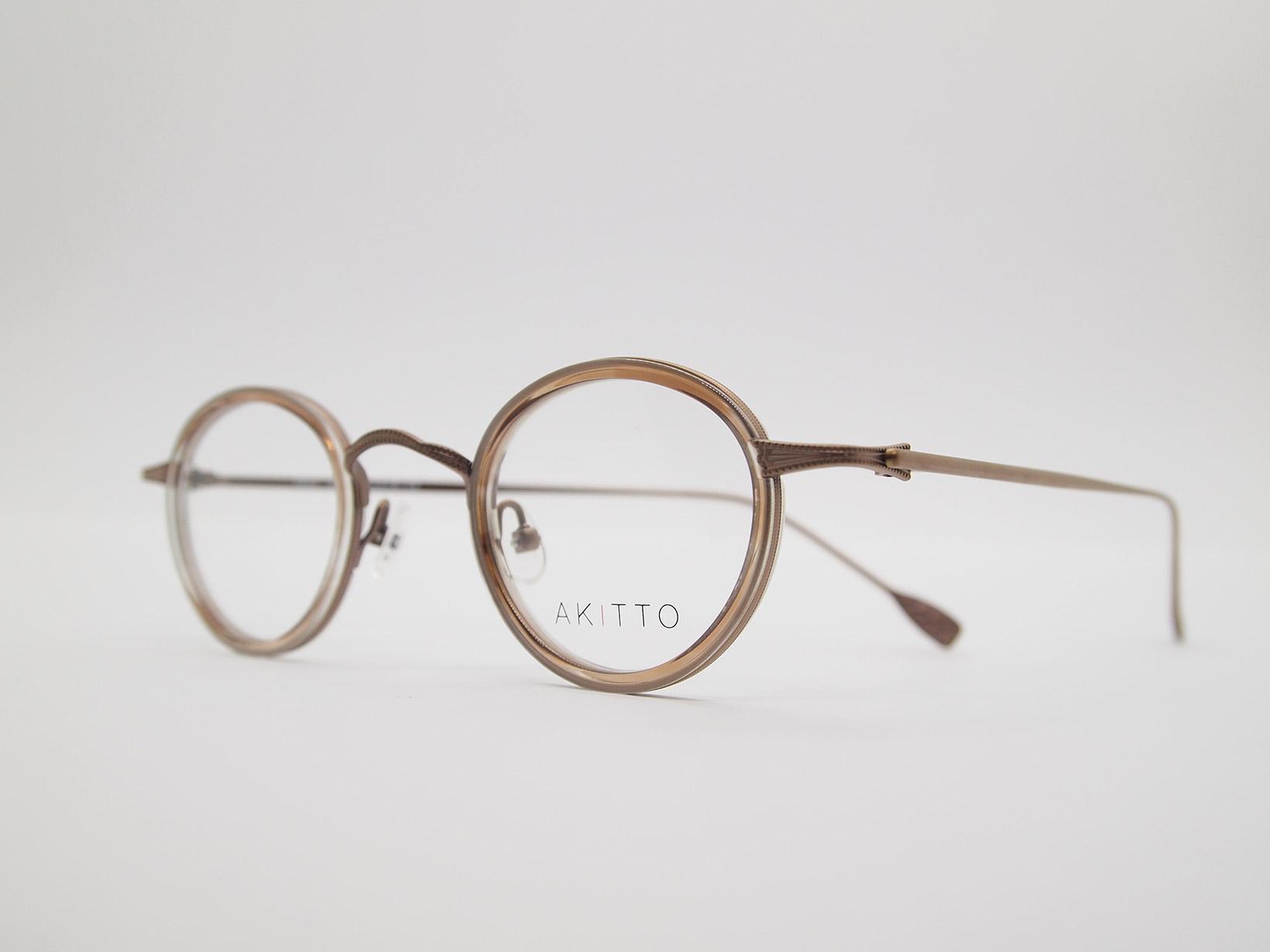 AKITTO 2021-4th tas2 color CB size:41□25 material:titanium+acetate price:¥46,200-(税込み)