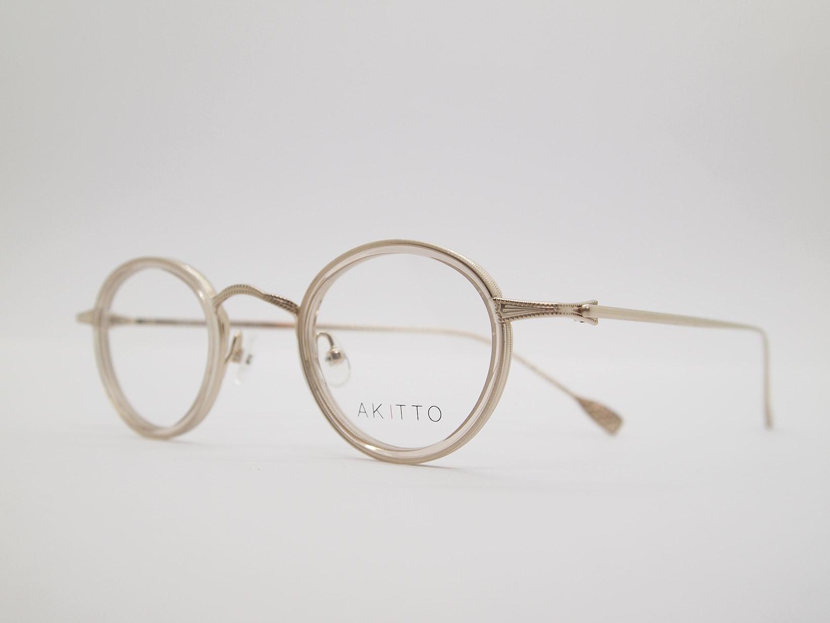AKITTO 2021-4th tas2 color CL size:41□25 material:titanium+acetate price:¥46,200-(税込み)