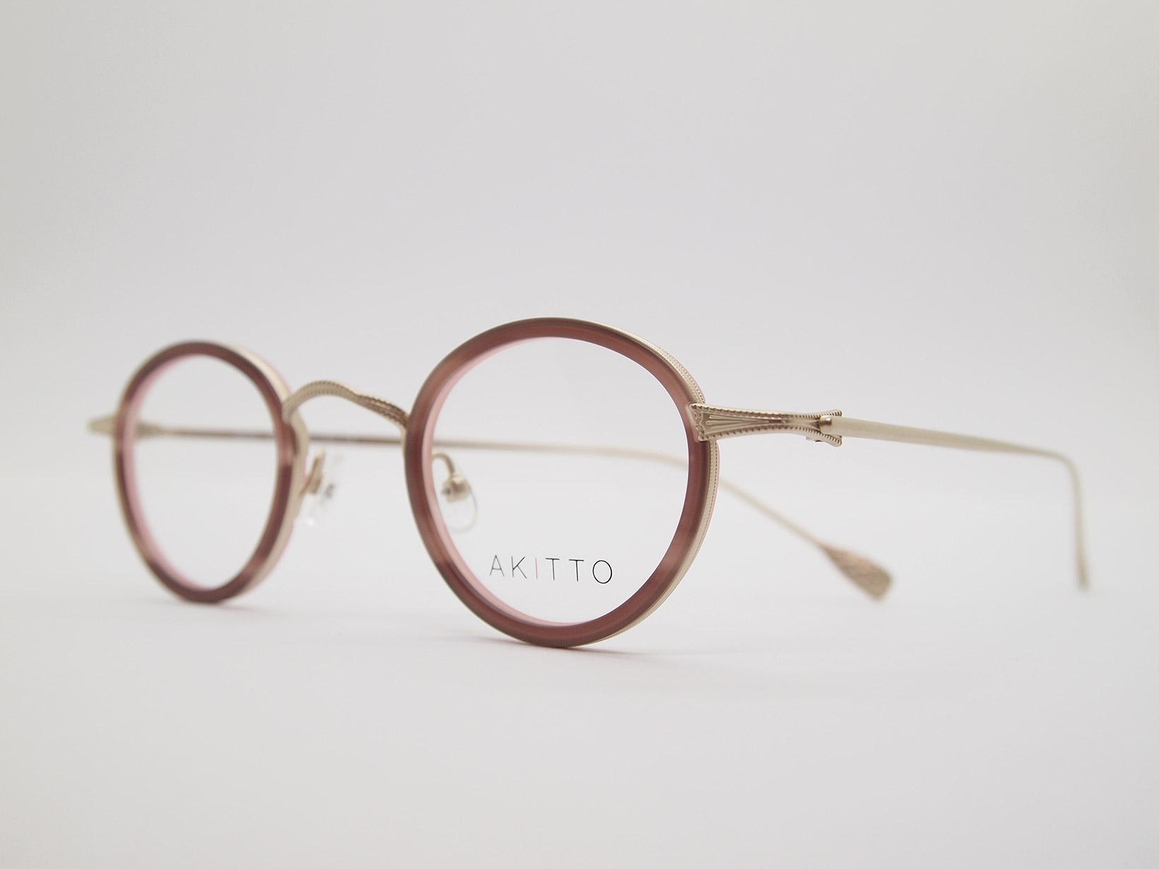 AKITTO 2021-4th tas2 color PK size:41□25 material:titanium+acetate price:¥46,200-(税込み)