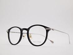 AKITTO 2021-4th tas3 color|BK size:45□22 material:acetate+titanium price:¥46,200-(税込み)